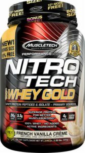 Muscle Tech Nitro Tech Whey Gold