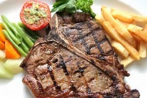 ribeye steak protein content